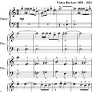March of the Toys Victor Herbert Easy Piano Sheet Music