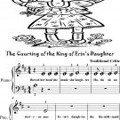 The Courting of the King of Erin's Daughter Beginner Piano Sheet Music Tadpole Edition