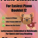 Petite Classics for Easiest Piano Booklet I2