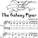Galway Piper Beginner Piano Sheet Music
