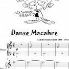 Danse Macabre Easy Piano in A Minor Sheet Music