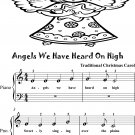 Angels We Have Heard On High Beginner Piano Sheet Music