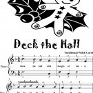 Deck the Hall Easiest Piano Sheet Music 2nd Edition
