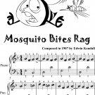 Mosquito Bites Rag Easiest Piano Sheet Music Tadpole Edition
