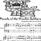 Parade of the Wooden Soldiers Beginner Piano Sheet Music