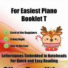 Petite Christmas for Easiest Piano Booklet T