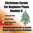 Little Angels Christmas Carols for Beginner Piano Booklet C