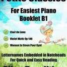 Petite Classics for Easiest Piano Booklet B1