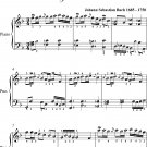 Polonaise In F Major Bwv Anh 117 Anna Magdalena Notebook Easy Piano Sheet Music