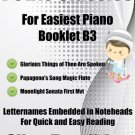 Petite Classics for Easiest Piano Booklet B3