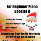 A Tiny Christmas for Beginner Piano Booklet H