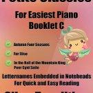 Petite Classics for Easiest Piano Booklet C