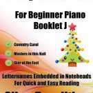 A Tiny Christmas for Beginner Piano Booklet J