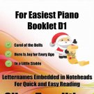 Petite Christmas for Easiest Piano Booklet D1