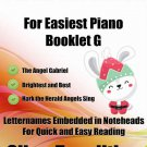 Petite Christmas for Easiest Piano Booklet G
