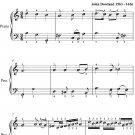 Queen Elizabeth's Galliard Easy Piano Sheet Music