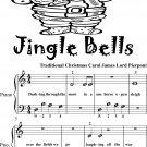 Jingle Bells Beginner Piano Sheet Music