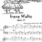 Irenen Waltz Opus 32 Easiest Piano Sheet Music