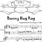 Bunny Hug Rag Beginner Piano Sheet Music