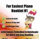 Petite Christmas for Easiest Piano Booklet N1