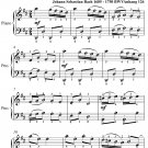 Musette Anna Magdalena Notebook Easy Piano Sheet Music