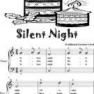 Silent Night Easiest Piano Sheet Music