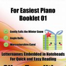 Petite Christmas for Easiest Piano Booklet O1