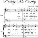 Roddy McCorley Easy Piano Sheet Music