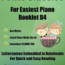Petite Classics for Easiest Piano Booklet D4