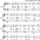 United States Marine Corps Hymn Easiest Piano Sheet Music