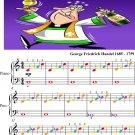 Zadok the Priest HWV 258 Easiest Piano Sheet Music