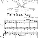 Palm Leaf Rag Easiest Piano Sheet Music for Beginner Pianists