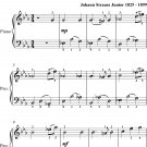 Illustrations Waltz Opus 331 Easy Piano Sheet Music