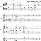 Prelude Number 1.4 Magnificat Primi Toni Easy Piano Sheet Music