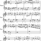 Adew for Master Oliver Cromwell Easy Piano Sheet Music