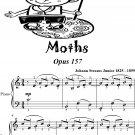 Moths Waltz Opus 157 Easiest Piano Sheet Music