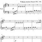 Eine Kleine Nachtmusik 4th Movement Beginner Piano Sheet Music