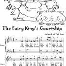 The Fairy King's Courtship Easy Piano Sheet Music