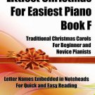 Littlest Christmas for Easiest Piano Book F