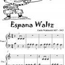 Espana Waltz Opus 236 Beginner Piano Sheet Music