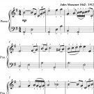 Meditation Thais Easiest Piano Sheet Music