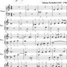 Prelude Number 1.2 Magnificat Primi Toni Easy Piano Sheet Music