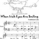 When Irish Eyes Are Smiling Beginner Piano Sheet Music 2nd Edition