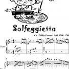 Solfeggietto Easy Piano Sheet Music 2nd Edition
