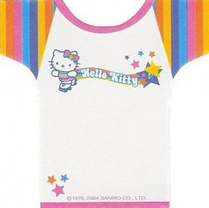 Hello Kitty T-Shirt Memo Sheets