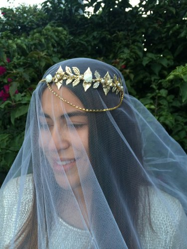 Gold leaf crown,crown, limited edition,fascinator,bridal headpiece,Bohemian Bridal