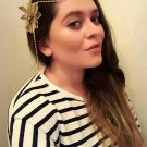Forehead chain Bridal Headpiece. Art Deco Style Bridal Accessory