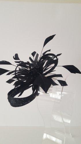 Black Headpiece Fascinator