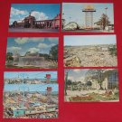 7- Vintage 1960's C.N.E. Canadian National Exhibition Unused Postcards