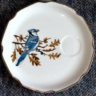 Vintage Georgian China 22KT.Gold Edged Birds of North